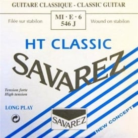 Savarez 546J Alliance HT Silver Wound High Tension Classical Guitar Single String 6-E