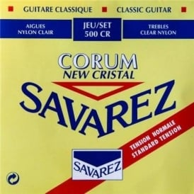 Savarez Corum Red New Cristal 500CR Normal Tension Strings