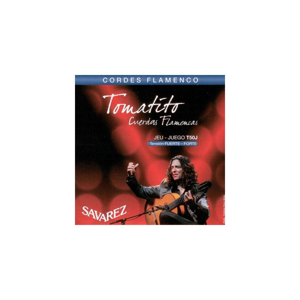 savarez t50j tomatito flamenco guitar strings normal tension. Black Bedroom Furniture Sets. Home Design Ideas