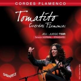 Savarez T50R Tomatito Flamenco Guitar Strings Normal Standard Tension Full Set