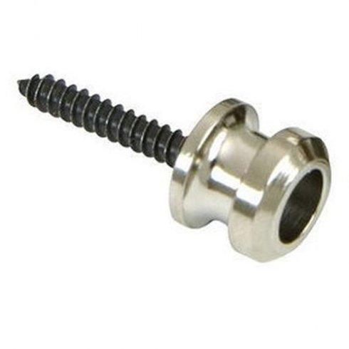 Schaller Nickel Strap Buttons with Screws 2-Pack (for use with Schaller Straplocks)