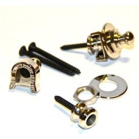 Schaller Security Guitar & Bass Nickel Straplocks Set