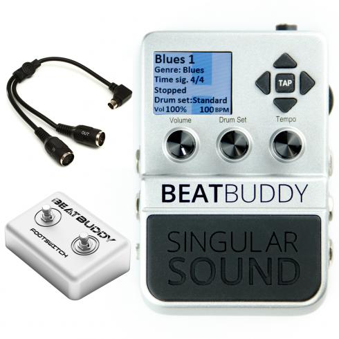 Singular Sound BeatBuddy FULL KIT Drum Machine MKII