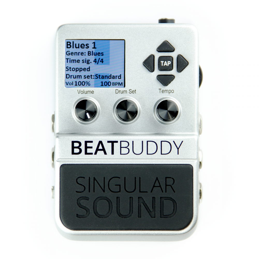 singular sound beatbuddy mk2 guitar pedal drum machine. Black Bedroom Furniture Sets. Home Design Ideas