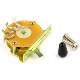 Sonik 3-Way Strat/Tele Selector Switch, Black Tip