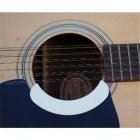 Soundhole Guard, Acoustic Mini Pickguard, Ivory