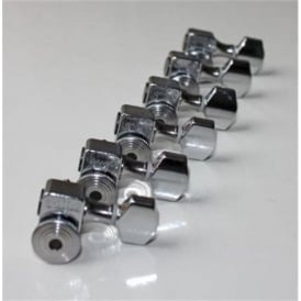 Sperzel Trim-Lok Locking 6-in-Line Machineheads Chrome