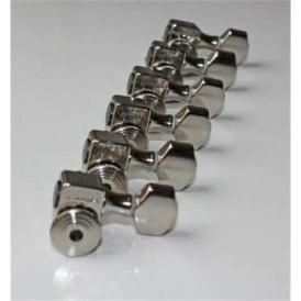 Sperzel Trim-Lok Locking 6-in-Line Nickel Machineheads for Guitar