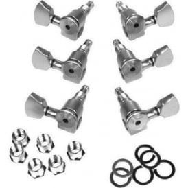 Sperzel Trim-Lok Locking Machine Heads, 3-a-Side, Chrome