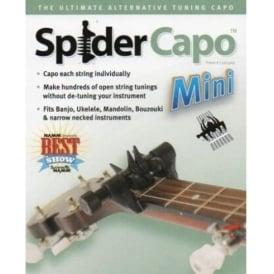 Spider Mini Capo by Creative Tunings for Mandolin Ukulele Banjo Bouzouki SCM
