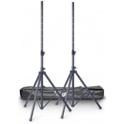 Stagg 2-Piece Aluminium Speaker Stands with Bag