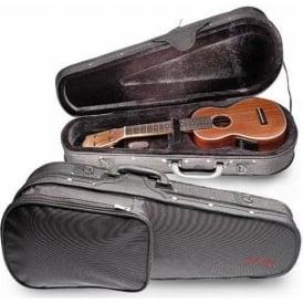 Stagg Basic Series Baritone Ukulele Hybrid Case