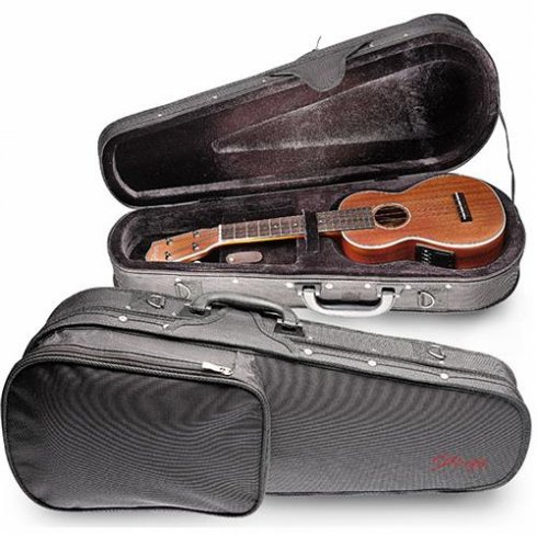 Stagg Basic Series Soprano Ukulele Hybrid Case