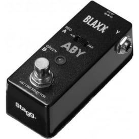 Stagg Blaxx ABY Box Mini Compact Guitar Effects Pedal