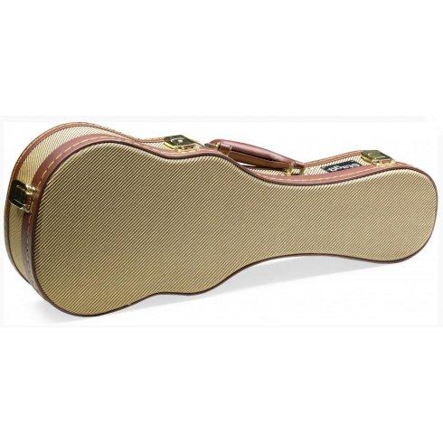 Stagg Gold Tweed Case for Soprano Ukulele