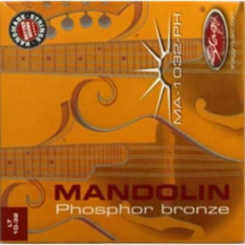 Stagg Mandolin 4-String Phosphor Bronze Light 10-32 Strings