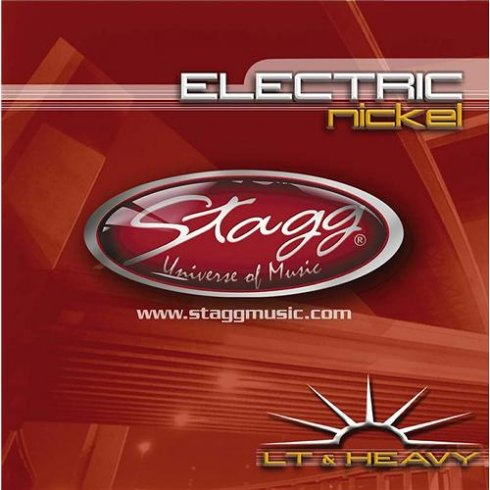 Stagg Nickel Plated Electric Guitar Strings 11-52