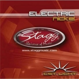 Stagg Nickel Plated Electric Guitar Strings 9-46 Gauge