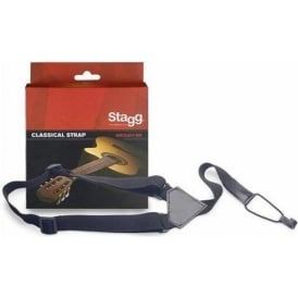 Stagg Nylon Classical Guitar Black Strap