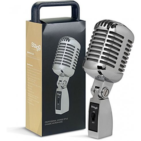 SDM100-CR Professional Vintage Style Dynamic Microphone