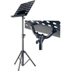 Stagg Basic Orchestral Music Stand + Metal Music Rest