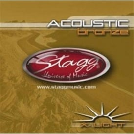 Stagg Bronze Acoustic Guitar Strings 10-48 Extra Light