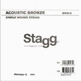 Stagg BRW-038 80/20 Bronze Wound Acoustic Guitar Single String .038