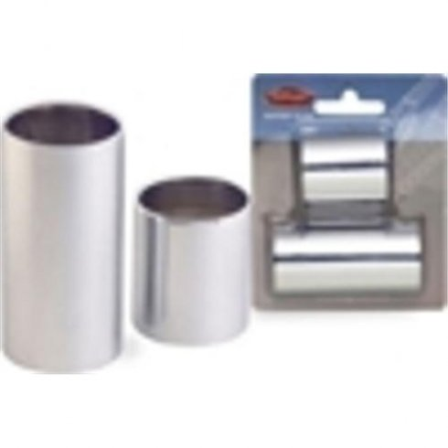 Stagg Chromed Steel Slide Set in Small