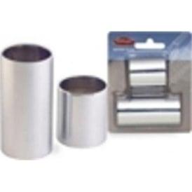 Stagg Chromed Steel Slide Set in Small