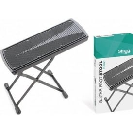 Stagg FOSQ1 Foldable & Adjustable Foot Stool for Playing Guitar