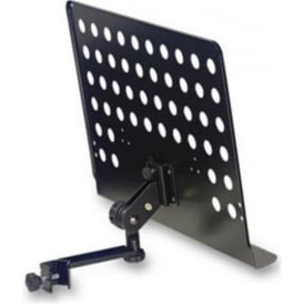 Stagg Large Perforated Music Stand Plate + Attachable Holder Arm MUS-ARM2