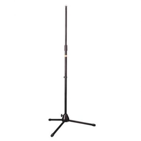 Stagg Microphone Floor Stand + Folding Legs in Black