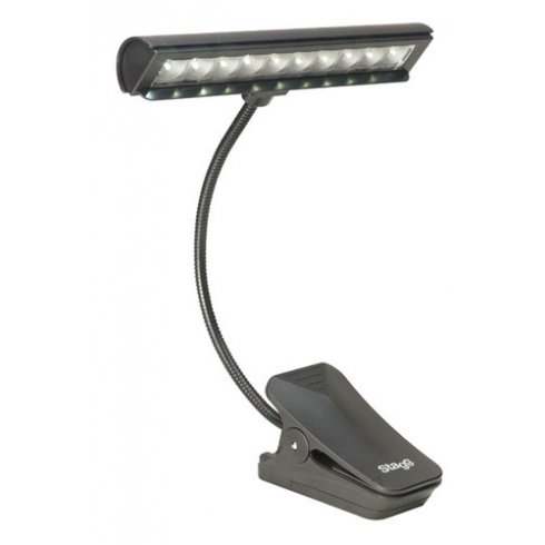 Stagg MUS-LED-10-3 Clip-On Orchestral LED Light for Music Stands