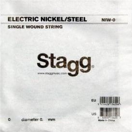 Stagg NIW-044 Nickel Wound Electric Guitar Single String .044