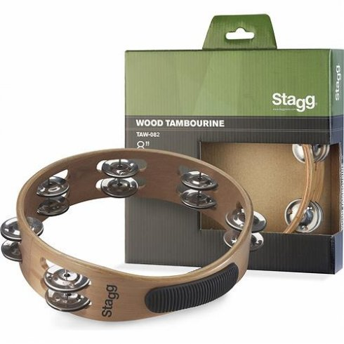 "Stagg TAW-082 8"" Headless Wooden Tambour"