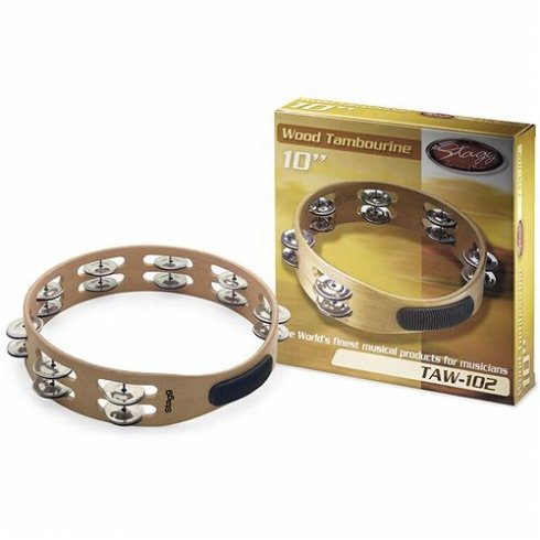 Stagg TAW-102 10 Headless Wooden Tambourine