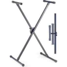 Stagg X Style Keyboard Stand - Black Foldable KXS-A35-BK