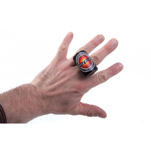 Stones Rhythm Ring Finger Percussion Shaker attaches to your finger