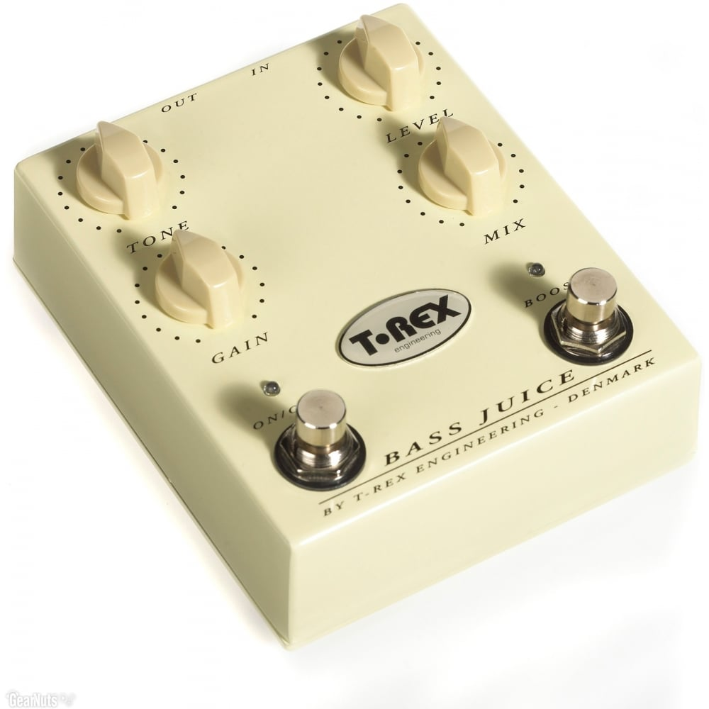 t rex bass juice distortion pedal for bass guitar. Black Bedroom Furniture Sets. Home Design Ideas