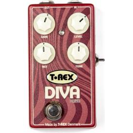 T-Rex Diva Drive Distortion Guitar Effects Pedal