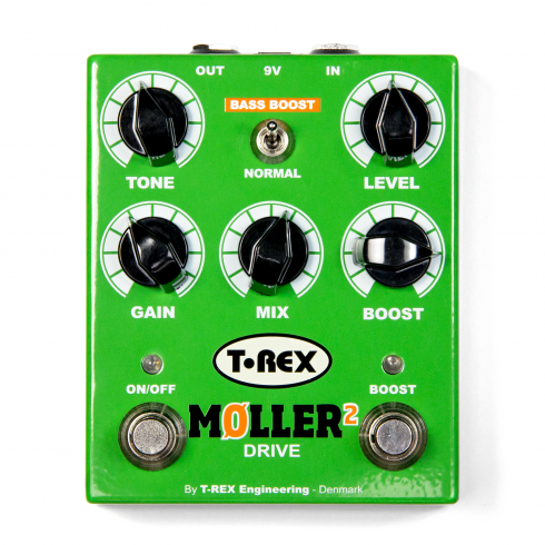 T-Rex Moller II Booster and Overdrive Pedal