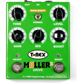 T-Rex Moller II Booster & Overdrive Guitar Effects Pedal