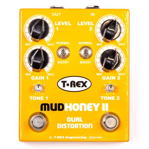 T-Rex Mudhoney II Dual Distortion Pedal