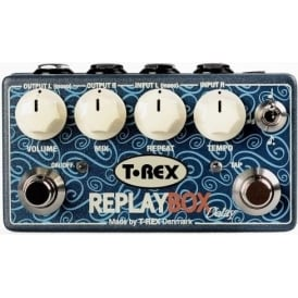 T-Rex Replay Box Stereo Delay Guitar Effects Pedal
