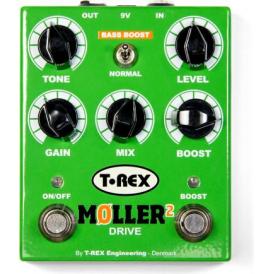 T-Rex Moller II Booster & Overdrive Guitar Effects Pedal