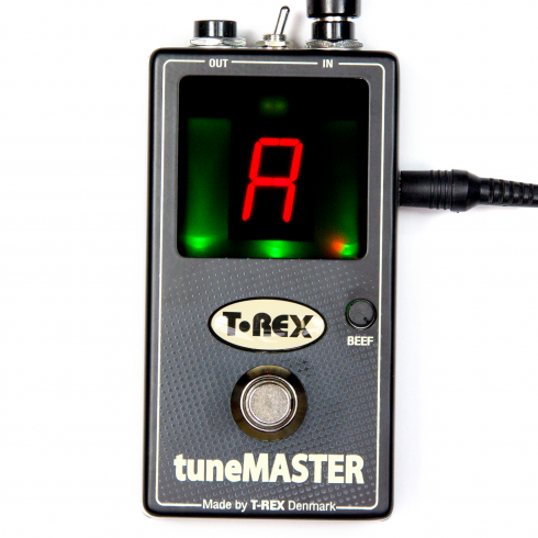 T-Rex TuneMaster Chromatic Guitar and Bass Pedal Tuner