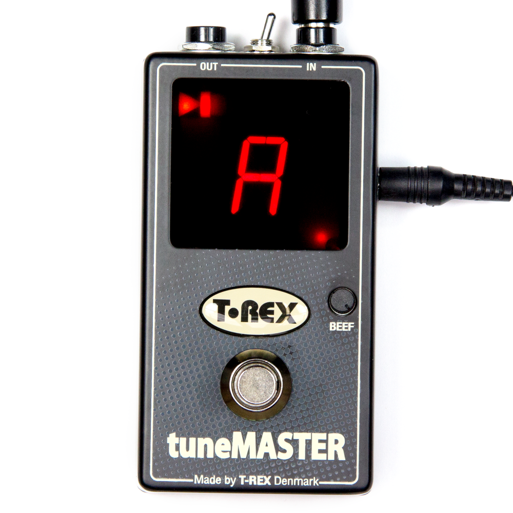 t rex tunemaster chromatic guitar pedal tuner. Black Bedroom Furniture Sets. Home Design Ideas
