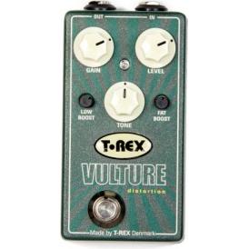 T-Rex Vulture Fat Distortion Guitar Effects Pedal