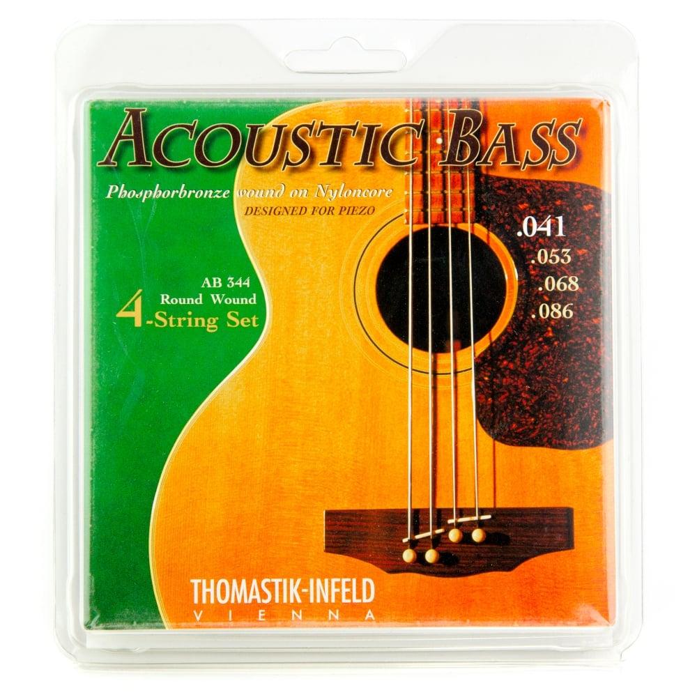 Thomastik Ab344 Acoustic Phosphor Bronze Bass Strings 41 86 Long