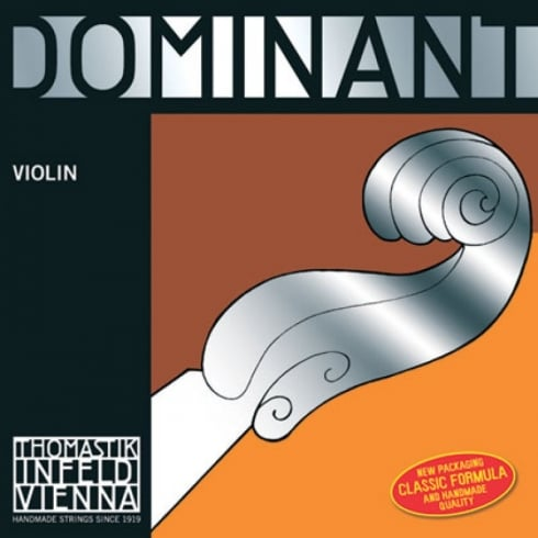 Thomastik-Infeld Dominant Violin 4/4 Full Size Violin Set - Weak Tension